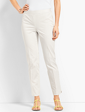 Talbots Chatham Ankle Pant-Stripe