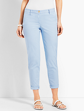 Girlfriend Chino Pant - Stripe