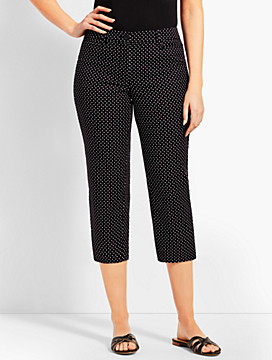Perfect Skimmer Pant - Curvy Fit/Dot
