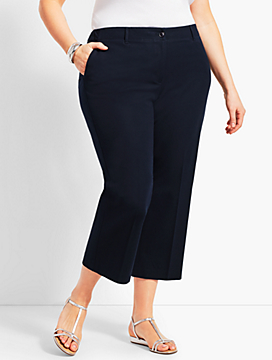 Womans Exclusive Talbots Chelsea Crop - Curvy Fit