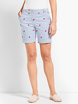 "7"" Crab Girlfriend Chino Short"