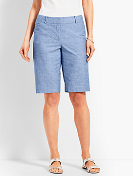 "10 1/2"" Chambray Perfect Short"