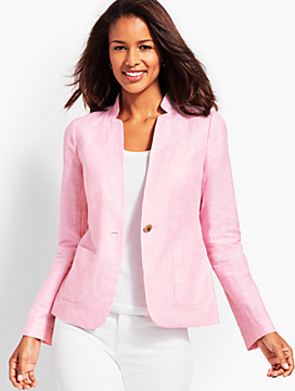 Stripe Lightweight Blazer