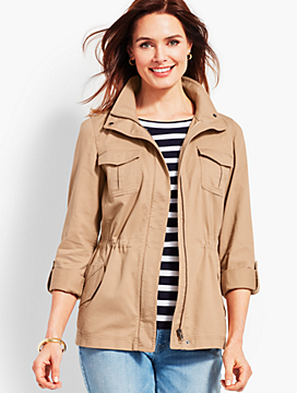 Casual Cotton Safari Jacket