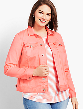 The Classic Denim Jacket - Colored