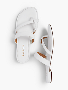 Gia Toe-Ring Sandals - Soft Nappa