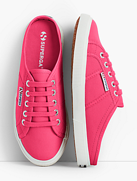 Superga® Canvas Mule Sneakers