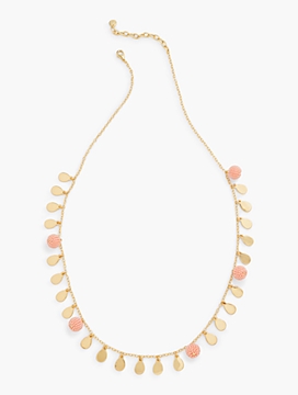 Pretty Petals Layer Necklace