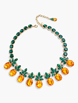 Jewel Pineapple Necklace