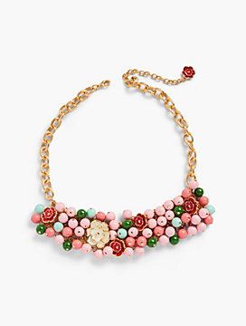 Desert Blooms Statement Necklace