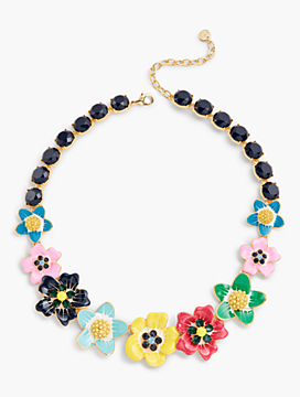 Tropical Blooms Necklace