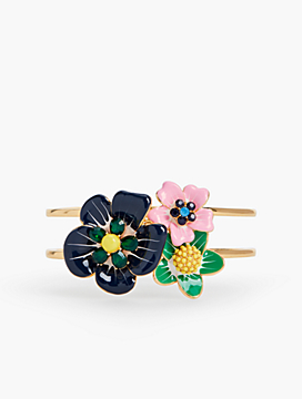 Tropical Blooms Cuff
