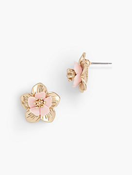 Tropical Blossoms Mini Stud Earrings