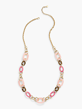 Linked-In Layer Necklace