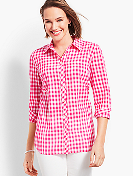 The Classic Casual Shirt - Breezy Gingham