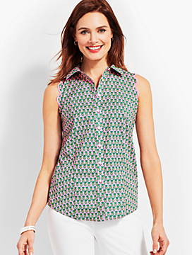 Scallop Shirt-Dancing Pineapple
