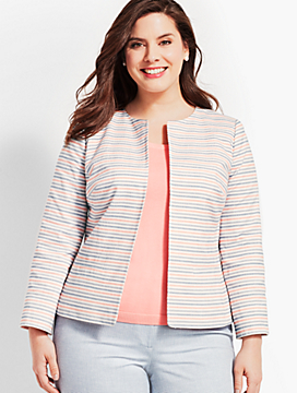 Striped Biscay Suit Jacket