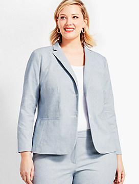 Biscay Double-Button Blazer