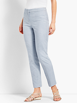 Biscay Slim-Leg Ankle Pant
