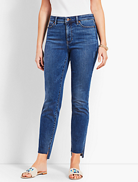 Step-Hem Straight Leg Jean