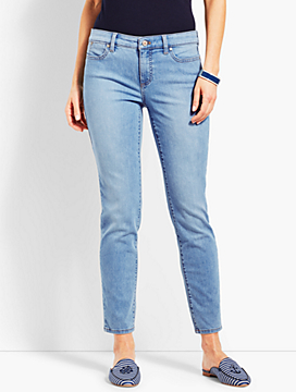 Denim Slim Ankle- Beach Glass Wash
