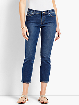 Denim Straight Leg Crop - Decker Wash