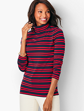 Turtleneck - Meadow Stripe