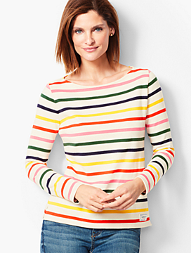 Authentic Talbots Tee - Whitby Stripe