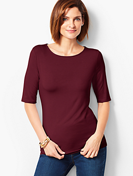 Refined Elbow Sleeve Tee