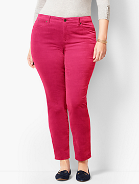 Slim Ankle Pant - Cords