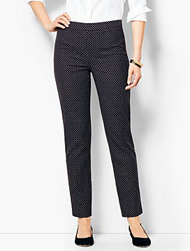 Talbots Chatham Ankle Pants - Dot