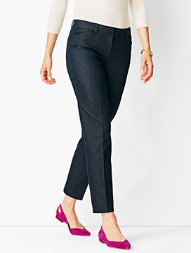 Talbots Hampshire Ankle Pant - Polished Denim