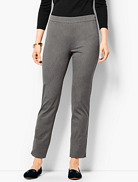Talbots Chatham Ankle Pants - Charcoal Grey