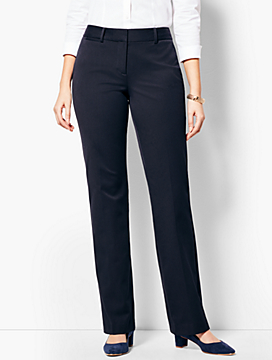 Refined Bi-Stretch Barely Boot Pant - Curvy Fit