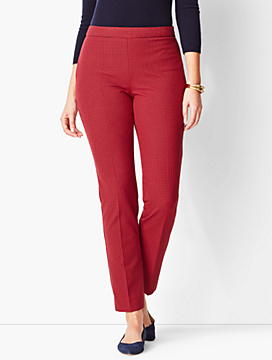 Talbots Chatham Ankle Pant - Curvy Fit/Check