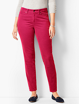 Slim Ankle Pant - Curvy Fit/Cord