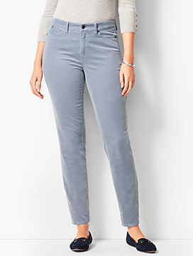 Slim Ankle Pants - Curvy Fit/Cord