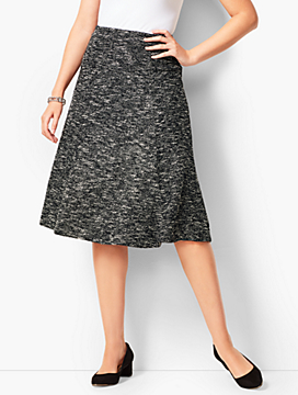 Tweed Knit Skirt