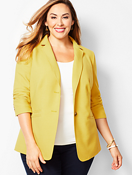 Bi-Stretch Wool Blazer
