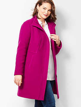 Wool Stadium Coat