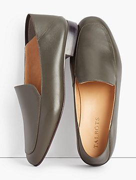 Cassidy Collapsible Flats - Nappa Leather