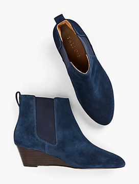 Isabel Wedge Ankle Boots