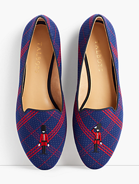 Ryan Loafers - Dot Plaid
