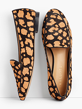 Ryan Loafers - Haircalf Heart-Print