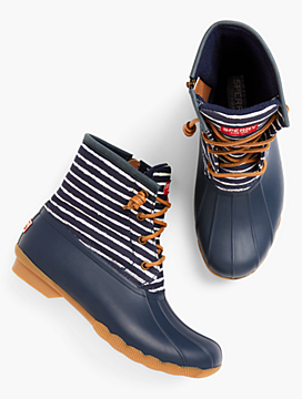 Sperry® Saltwater Rainboots - Stripe