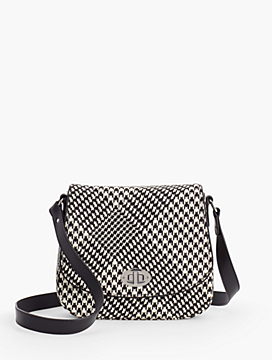 Houndstooth Shoulder Bag