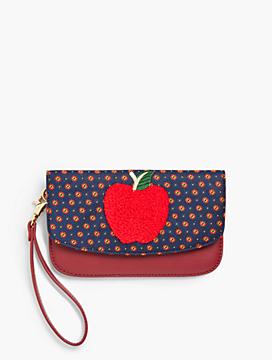 Novelty Apple Wristlet