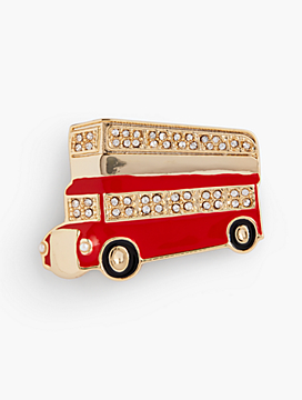 London Brooch - City Bus