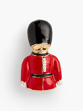 London Brooch - Palace Guard