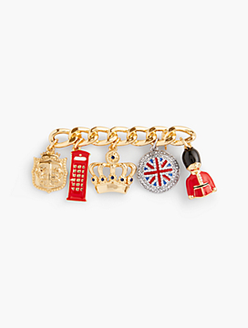London Charm Brooch
